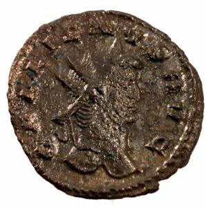 Cohen #5 2.90 Fashionable Patterns Hard-Working Ef #61332 Billon Antoninianus Gallienus 40-45
