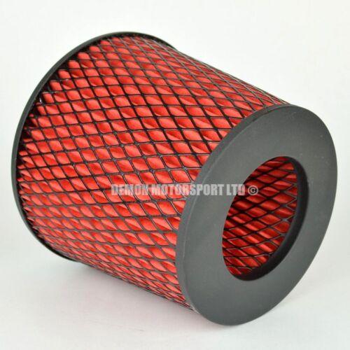 51828 Prestazioni FILTRO ARIA ROSSO per Kit Induzione 83mm o scegliere Inlet dimensioni