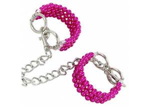 Pretty-in-Pink-Beaded-Wrist-Restraints