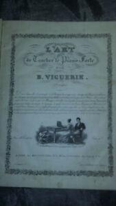 L-039-art-de-toucher-le-piano-forte-B-VIGUERIE-Edition-Rousset-vers-1830-relie