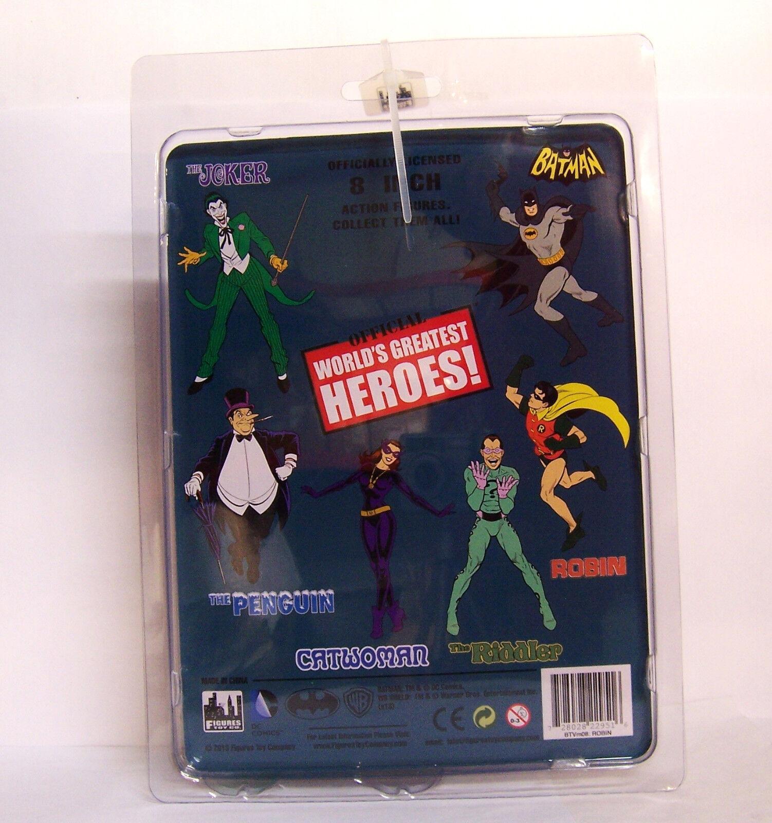DC Comics Retro 8  Classic RARE TV TV TV Show Batman FULL Lot Set Figures ac1b79