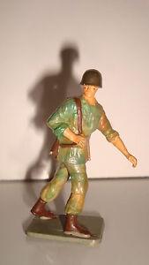 Figurine Figur Starlux Soldat Militaire N°52 (5,5x3,5cm) Vif Et Grand Dans Le Style