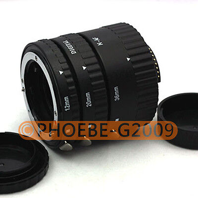 Auto Focus Macro Extension Tube For NIKON AF AF-S DX FX