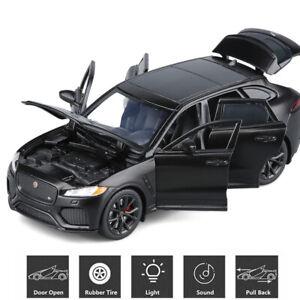 1:32 Jaguar F-Pace SUV Alloy Metal Diecast Model Car Toy Collection Light&Sound