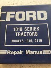 Ford 1910 2110 Tractors Service Manual