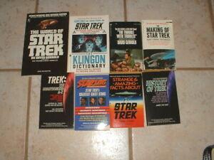 Lot-of-8-Miscellaneous-Star-Trek-Non-Fiction-Paperback-Books