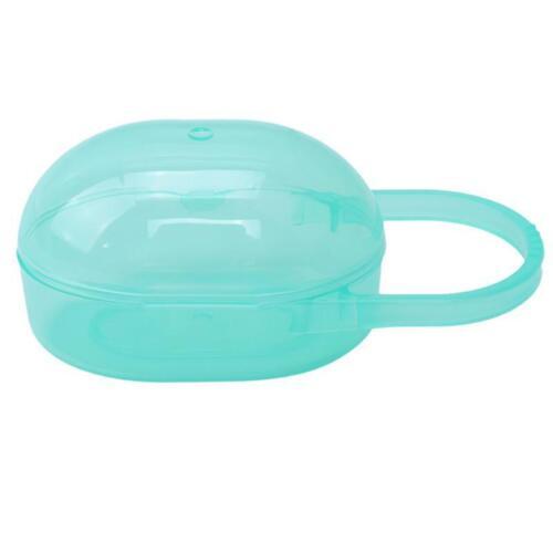 Portable Infant Baby Pacifier Nipple Cradle Case Holder Travel Storage Box Q