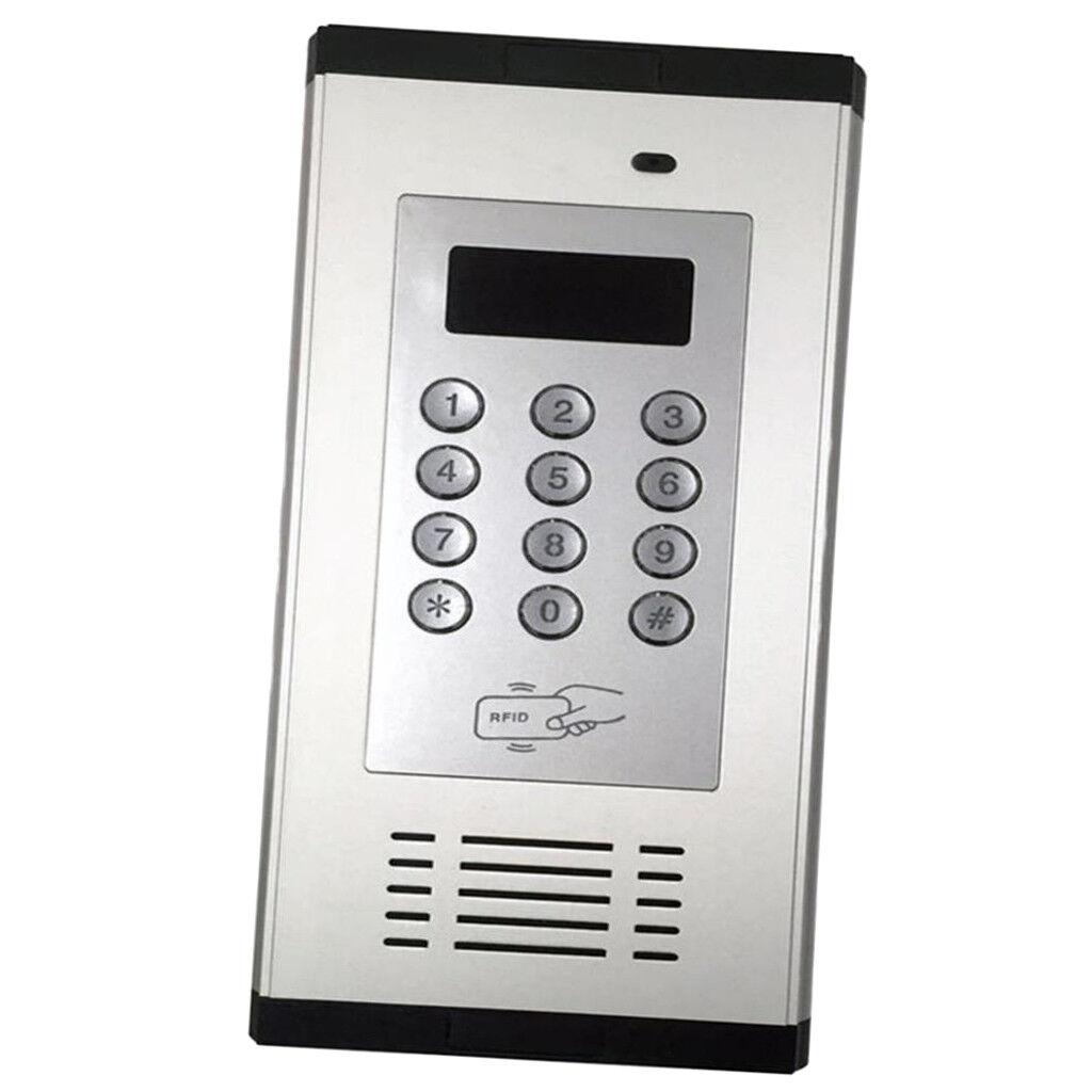 Puerta de puerta 3G Kit de control remoto de seguridad de entrada de seguridad puerta RFID alarma K6W