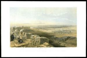 1855-Original-Antique-Print-CRIMEA-WAR-Straits-of-Yenikale-Bay-Kertch-03