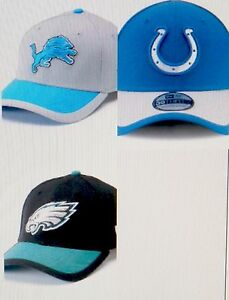 e4961bf9 Details about Adult New Era Colts Lions Eagles Sideline 39 THIRTY  Stretch-Fit Cap L/XL