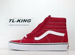 Vans Sk8-Hi Crimson True White Classic