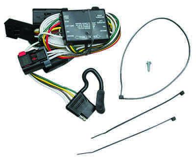 trailer wiring harness kit for 96-00 chrysler town & country 98-03 dodge  durango | ebay  ebay