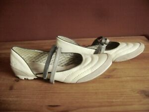 los angeles 19fd4 f0dfd Details about @Kangaroos@ Ballerina White Leather 37 UK 4,5 US 5,5