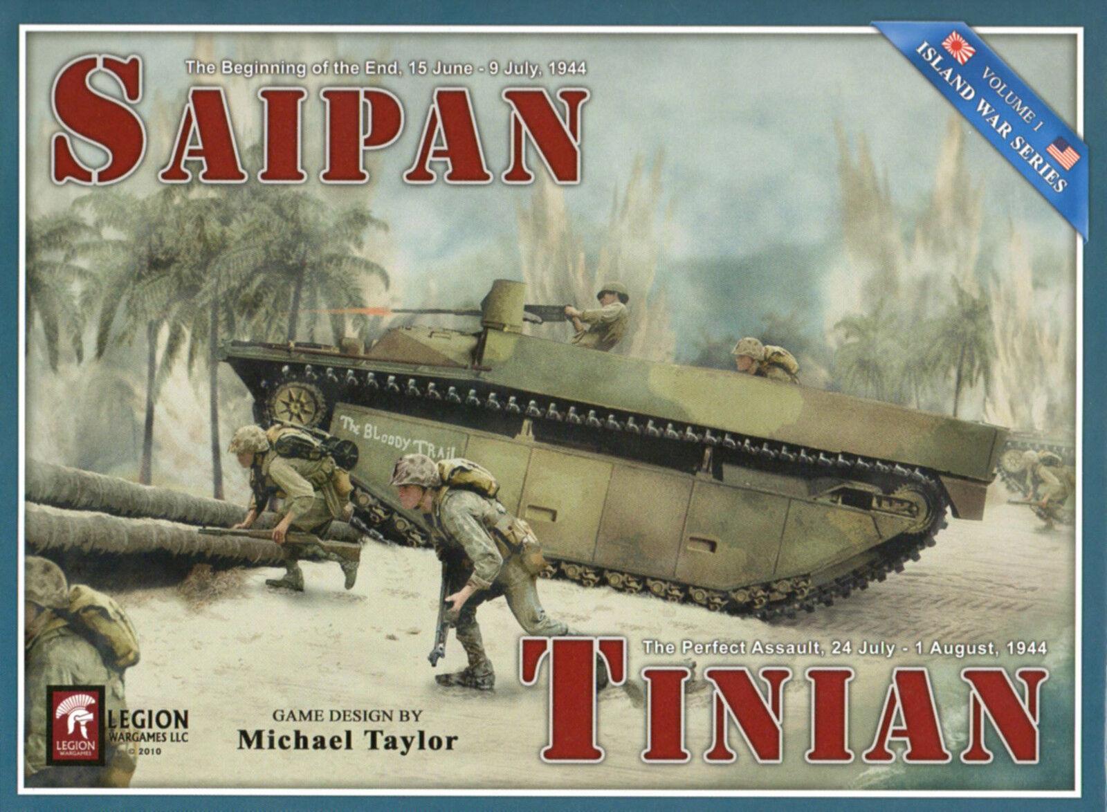 Legion wargames & tinian - insel saipan krieg series vol. i 2018 nachdruck nisw