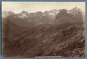 G-W-W-UK-Isle-Of-Skye-The-Cuchullins-from-Drumhain-Vintage-albumen-print-G
