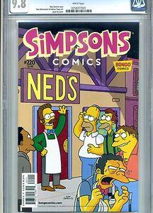 SIMPSONS-COMICS-220-CGC-9-8-BONGO-COMICS-2015