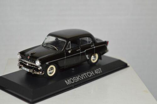 MOSKVITCH 407 Legendary Cars Auto Die Cast Scala  1:43 CCCP MZ