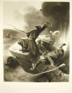 Raisonnable Les Zouaves à L'assaut Guerre De Crimée Bataille De L'alma Horace Vernet 1857 Cadeau IdéAl Pour Toutes Les Occasions