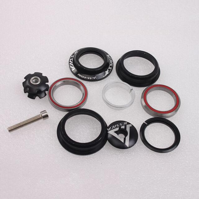 "Eloxiertes CNC MTB Bike 1 1//8 /""Semi Integrated Threadless Headset 44mm Sealed-DE"