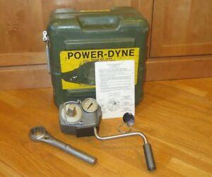Power-Dyne-PD602-600ft-lb-Torque-Multiplier-Wrench-3-4-034-Drive-PD704KIT