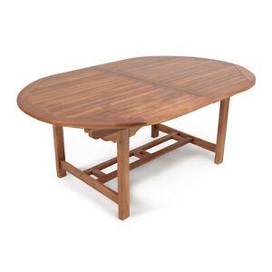 Tavolo Legno Allungabile Da Giardino.Tavolo Da Esterno Allungabile In Legno Di Teak Allungabile Da 180 A
