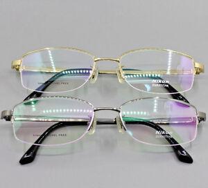 6d944692f2e0 Nikon Eyeglass Rx Glasses Eyewear Classic Optical Titanium Frame ...