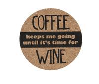 Ganz - coffee Keeps Me Going... Cork Coaster (er49661)