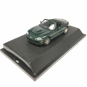 1-43-Mazda-MX-5-Cabriolet-Model-Car-Diecast-Gift-Toy-Vehicle-Green-Collection