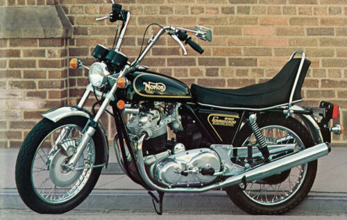 NORTON Poster 850 MKIII Commando Hi-Rider Suitable to Frame