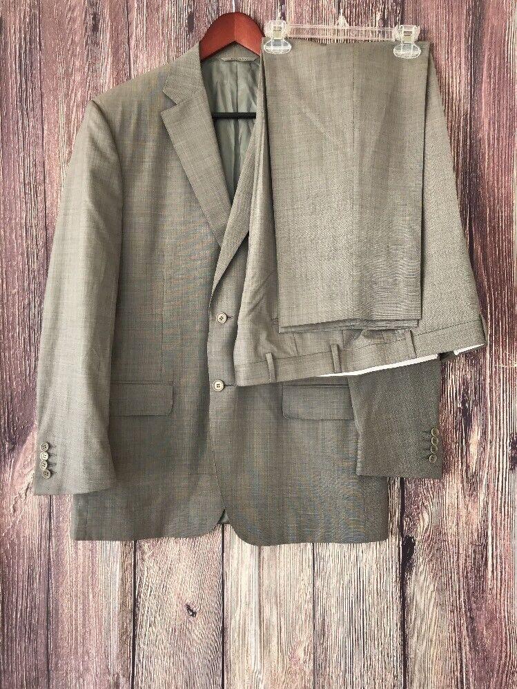 Canali Men's Cashmere Lana Wool Suit - grau - Größe 42R / 52