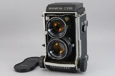 Near MINT Mamiya C220 Medium Format TLR Body w/ 80mm f2.8 Lens From Japan a571