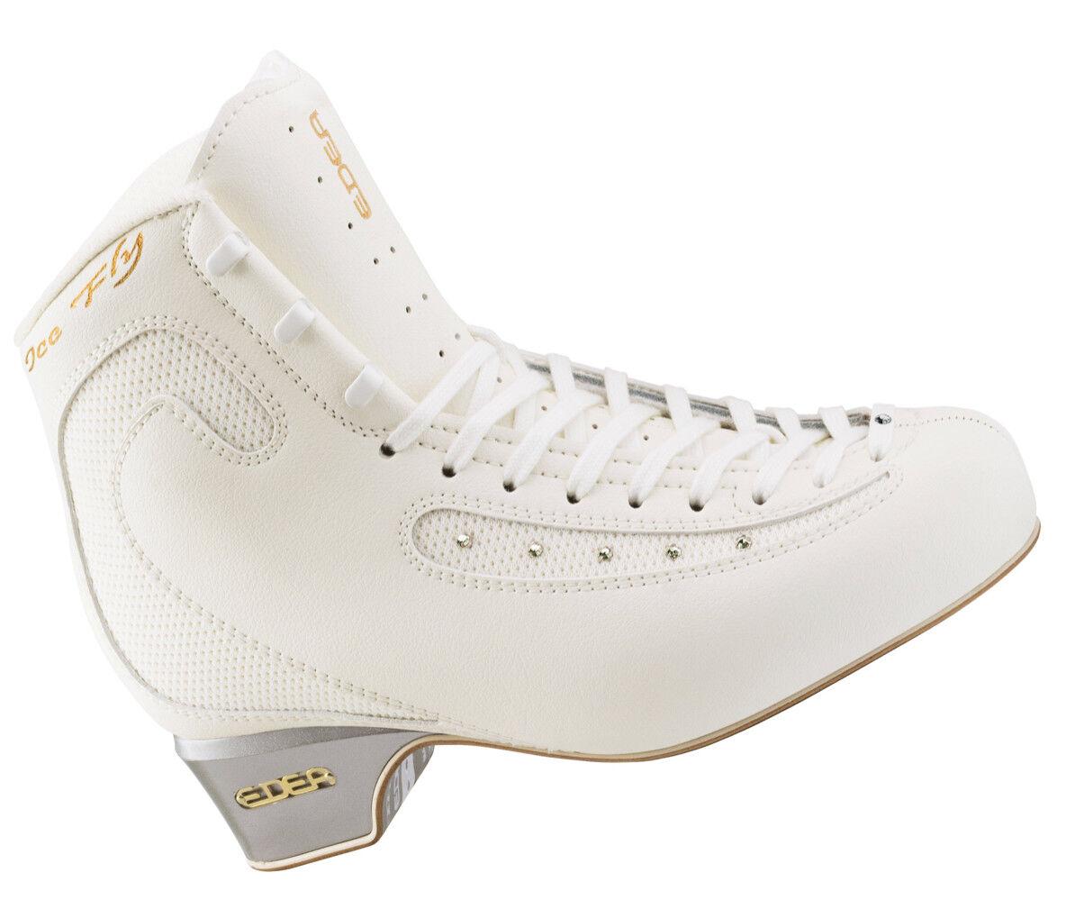 Edea hielo Mosca blancoa Patines de hielo hielo hielo patinaje botas C-Ancho  Centro comercial profesional integrado en línea.