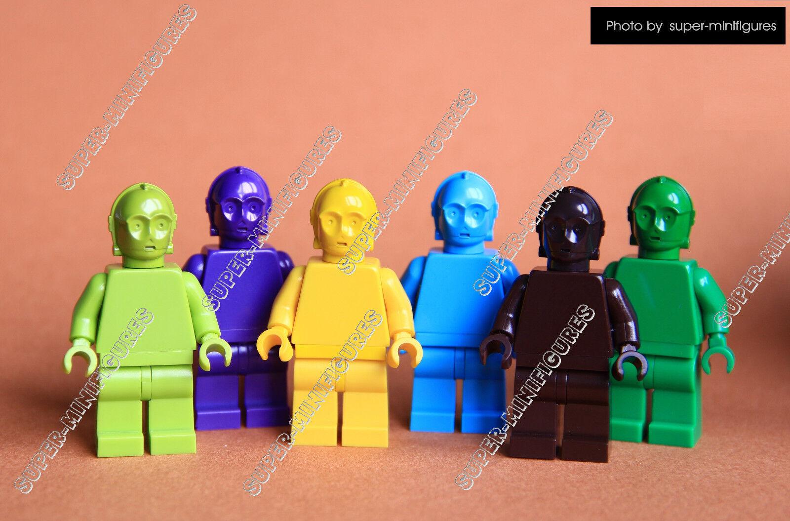 Lego C-3po monochrome set Star Wars ( lego custom )