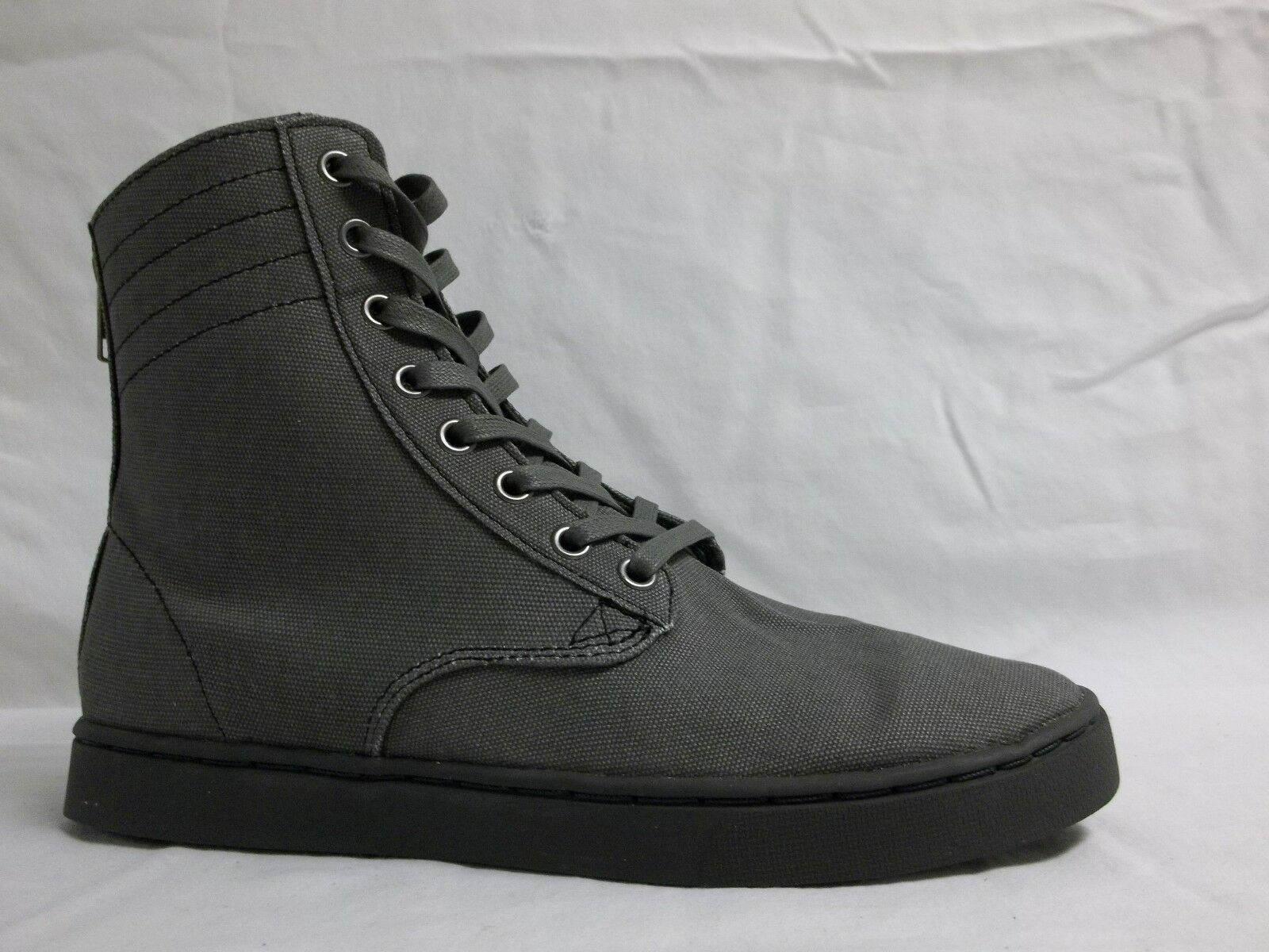 0daee5595a12 KR3W Size Size Size 7 M Franklin Grey Canvas High Top Sneakers New Mens  Shoes d40b4e