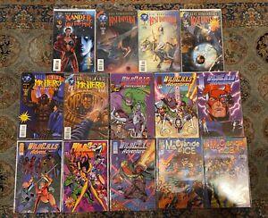 Comic-Book-Lot-4-Titles-All-Runs-14-Independent-Comics-Total