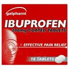 64 Ibuprofen Children Adults Pain Relief 200mg Tablet