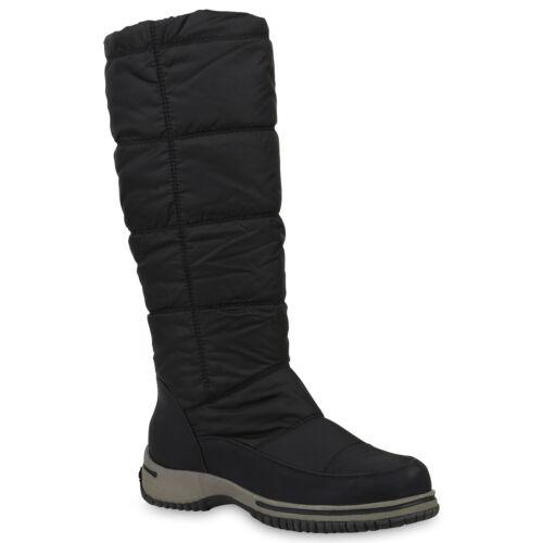 Warm Gefütterte Damen Stiefel Winterstiefel Snow Boots Schuhe 814080 Trendy Neu