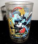 Vintage McDonald's 100 years of Magic Walt Disney Glass.Mickey