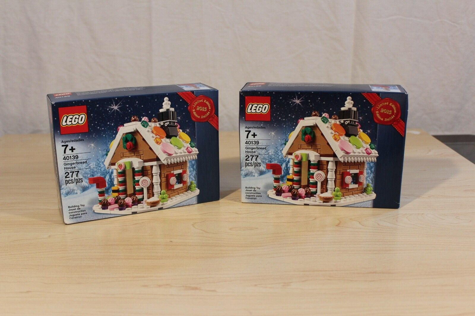 LEGO 40139 Gingerbread House Bundle New