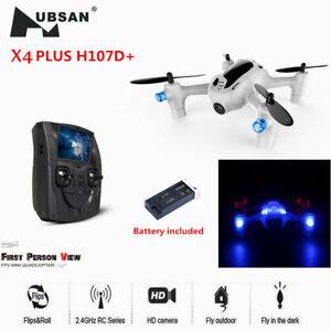 Hubsan FPV X4 H107D+ Plus Drone 4.3