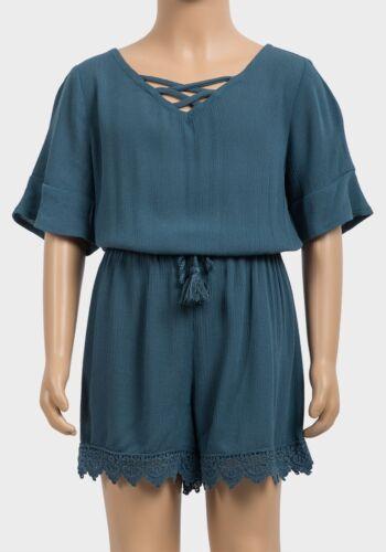 Filles Sarcelle Vert Crochet Ourlet Combi 4-5 6 7-8 10-12 14-16 ans entièrement neuf sans étiquette