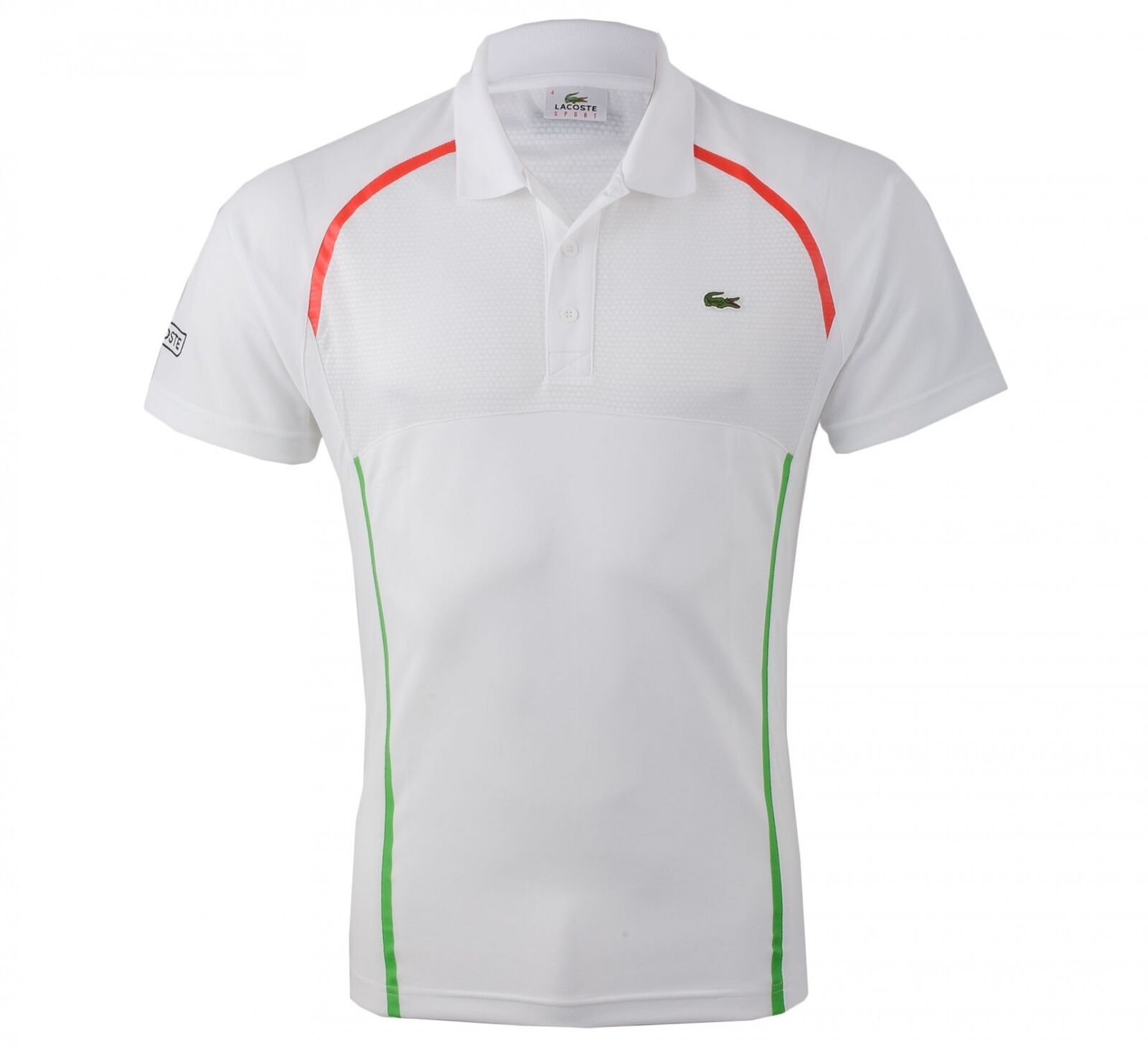 NWT Lacoste Sports Men's Ultra Dry Tennis Polo Shirt, Sizes 2-9, color vary