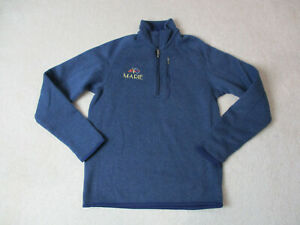 Patagonia-Sweater-Size-Womens-Small-Blue-Quarter-Zip-Pull-Over-Long-Sleeve