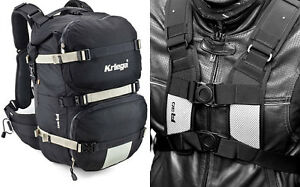 KRIEGA-R30-MOTORCYCLE-RUCKSACK-BACK-PACK-TOURING-COMMUTING-KREIGA-30-LITRE