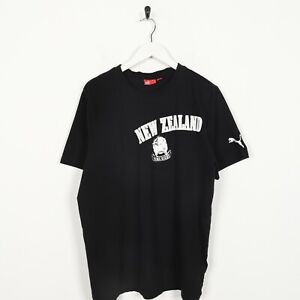 Vintage-PUMA-New-Zealand-Rugby-T-Shirt-Tee-Black-XL