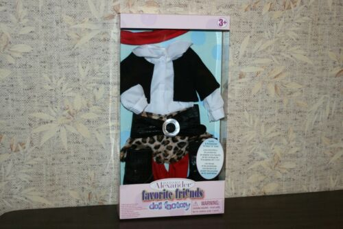 "Madame Alexander Favorite Friends Doll Factory Modern Mix Outfit for 18"" Dolls"