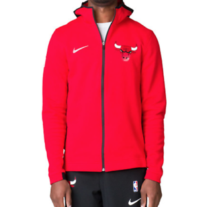 Nike Chicago Bulls Dry Showtime Men s Basketball Hoodie Size Small ... a54d5bf33f0