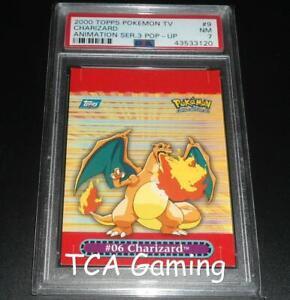 PSA 7 NEAR MINT Charizard Pop-Up 9 OF 10 TOPPS Pokemon Card