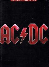 AC/DC BLACK ICE GUITAR TABLATURE EDITION songbook lyrics chords