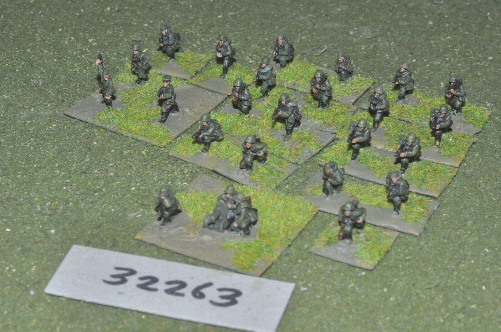 15mm WW2   russian - section (as photo) - inf (32263)